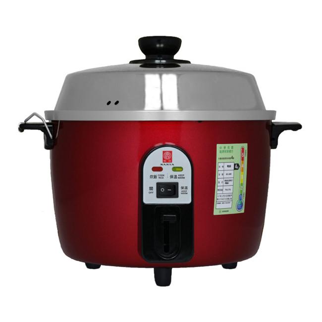 【南亞牌】10人份不鏽鋼電鍋(寶紅色) EC-210