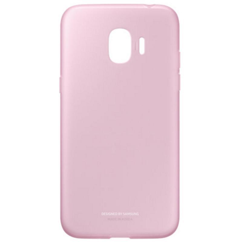 SAMSUNG J2 Pro薄型透明背蓋-軟材質TPU 粉色
