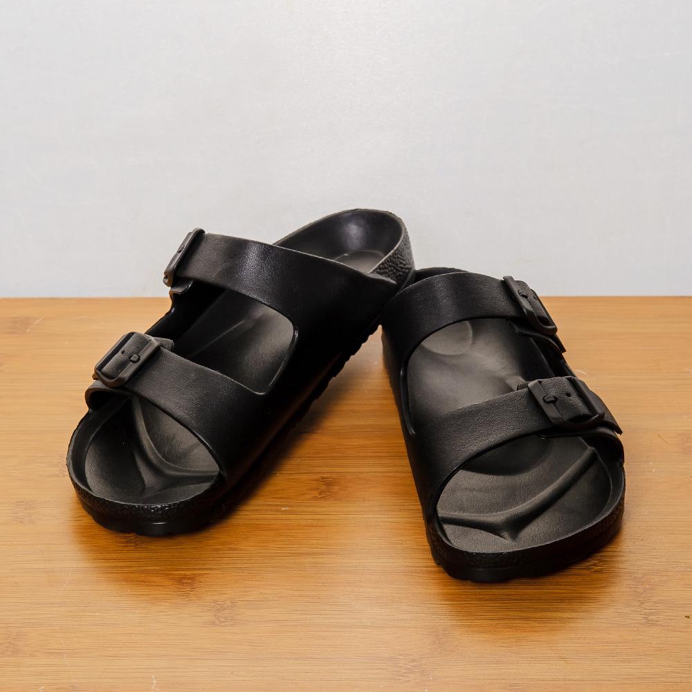 EVA室外休閒鞋-極致黑(25)-生活工場
