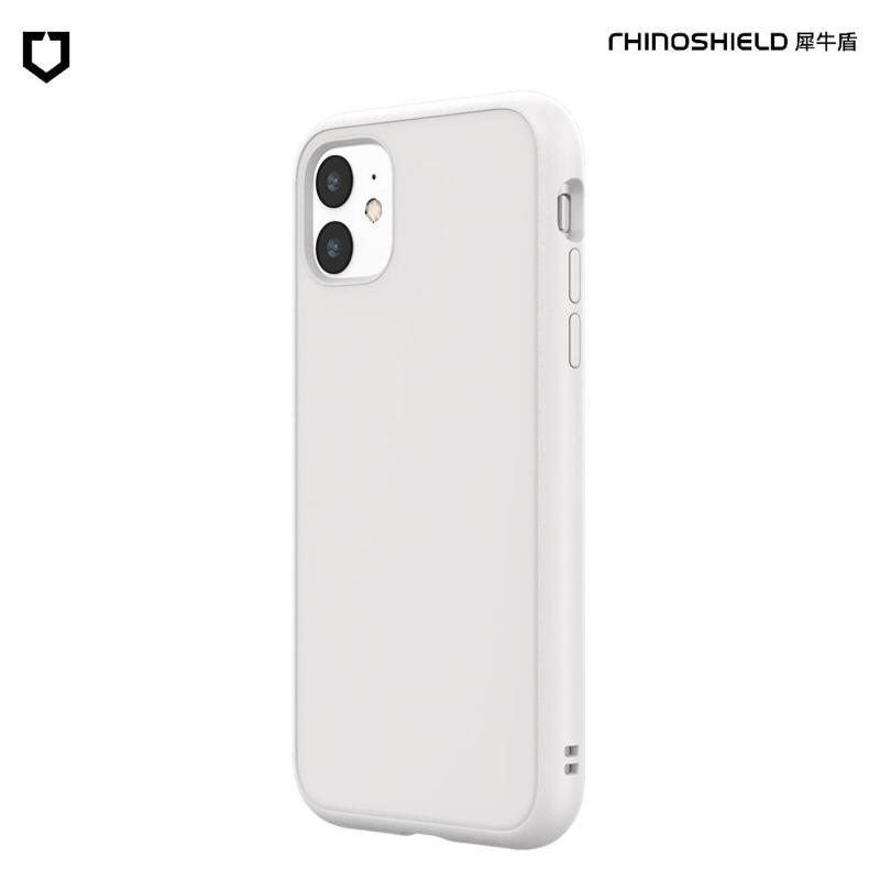 犀牛盾 SolidSuit 防摔背蓋手機殼iPhone 11 6.1 經典白