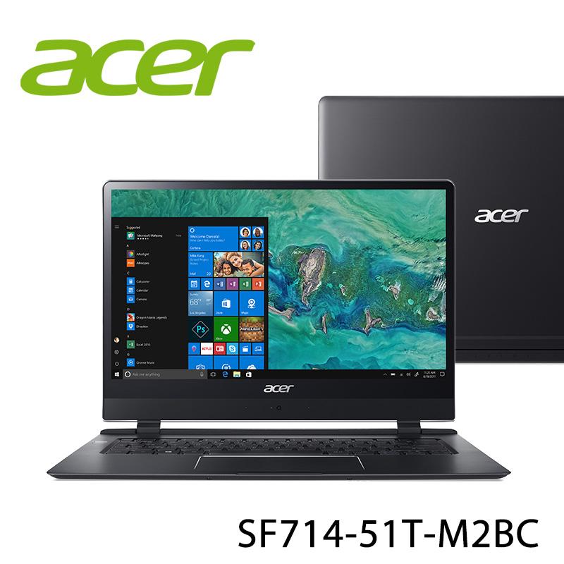 【ACER宏碁】SF714-51T-M2BC 14吋 筆電-送美國OSTER 隨行杯果汁機 90th紀念款(市價1580元)+無線滑鼠