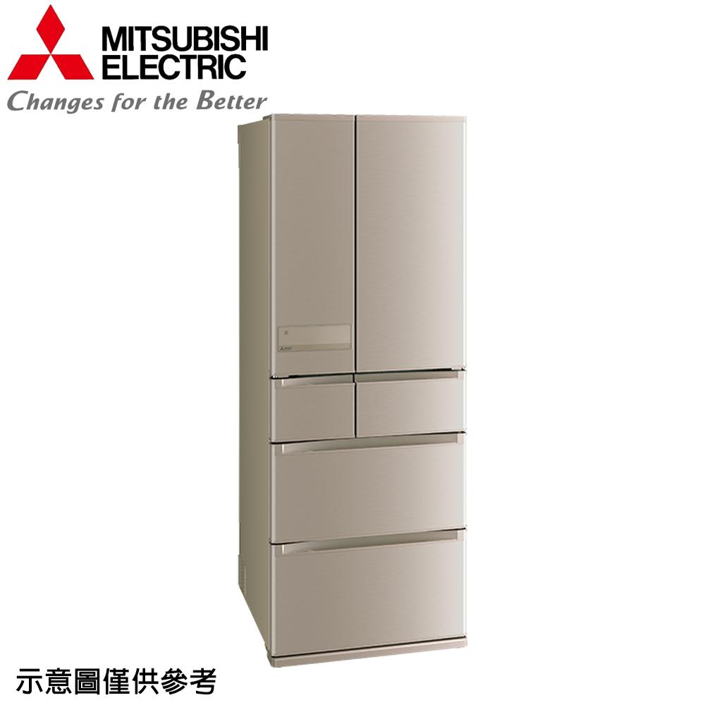 【MITSUBISHI 三菱】605公升日本原裝變頻六門冰箱MR-JX61C-N