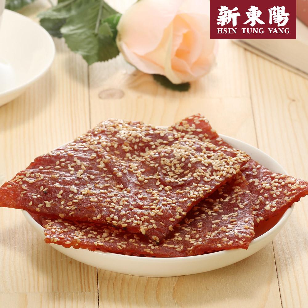 【新東陽】碳烤芝麻豬肉乾 (275g*2包),免運
