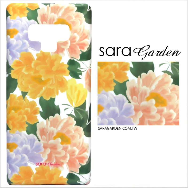 【Sara Garden】客製化 手機殼 Samsung 三星 Note10 保護殼 硬殼 粉嫩碎花