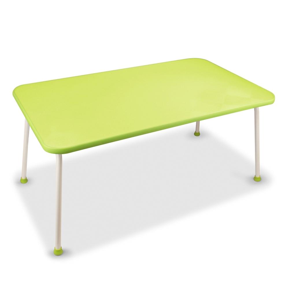 悠活簡約 多功能床上折疊電腦桌(LY-NB21)-綠色