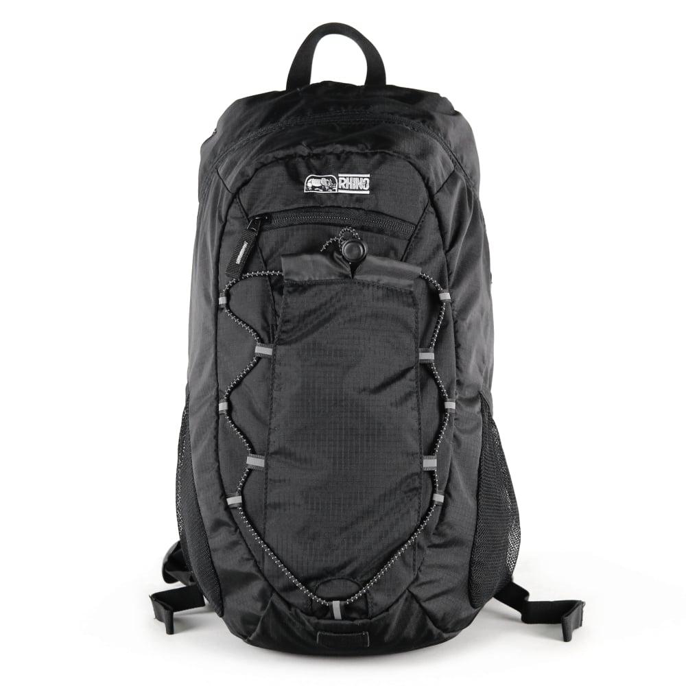 犀牛 RHINO  Lite Pack 15公升輕便登山背包-黑
