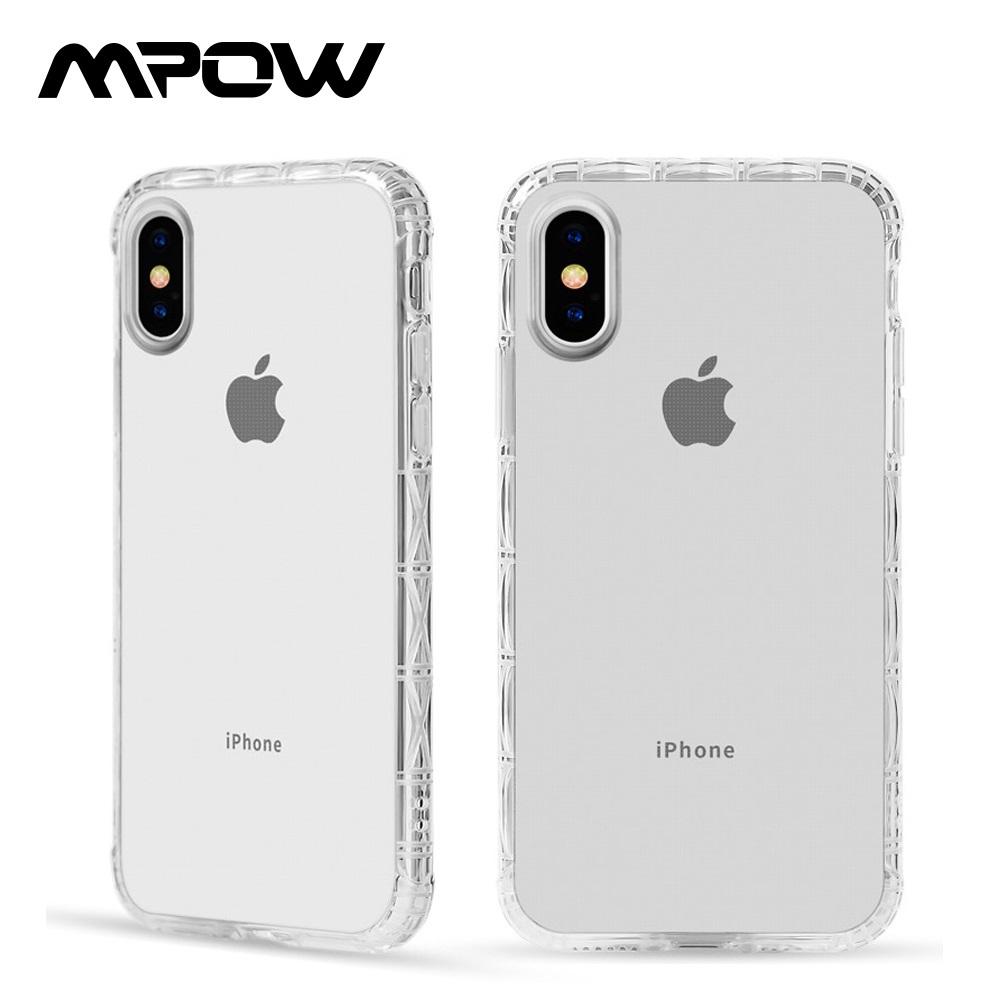 【美國熱銷】MPOW iPhone 7 Plus/8 Plus 軍規防摔手機殼-透明