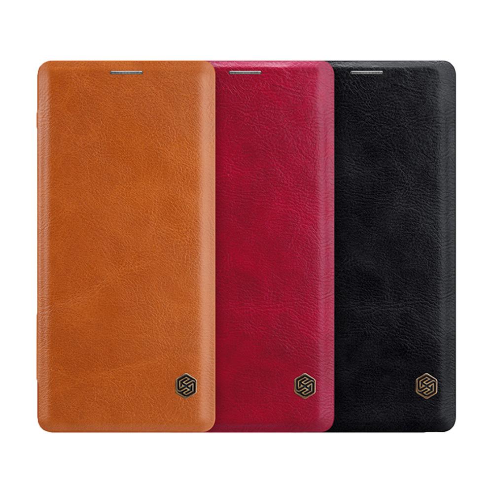 NILLKIN SAMSUNG Galaxy Note 9 秦系列皮套(黑色)