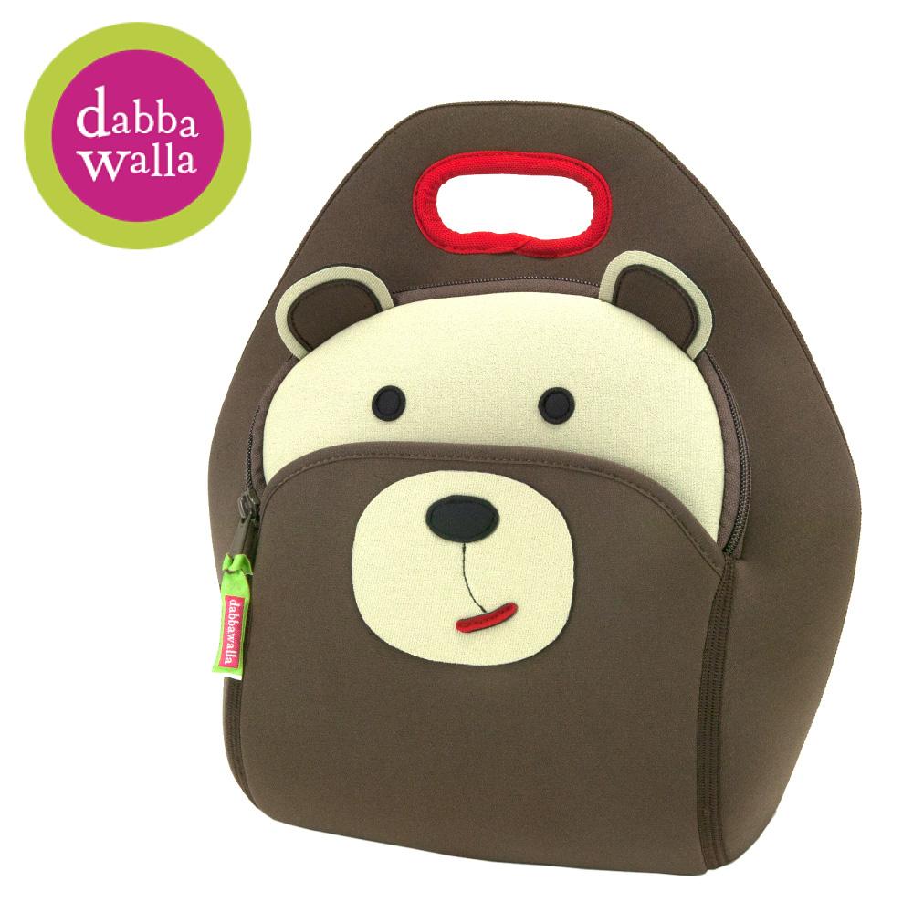 美國Dabbawalla瓦拉包 -棕熊兒童手提包