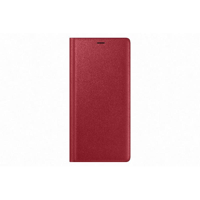 SAMSUNG Galaxy Note9 經典真皮革皮套 紅