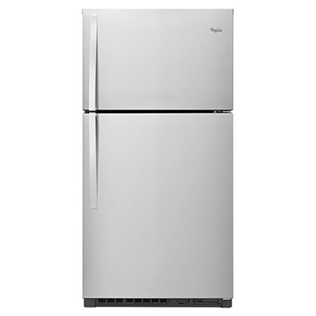 【Whirlpool惠而浦】622L不鏽鋼色定頻雙門(上下門)冰箱 WRT541SZDM
