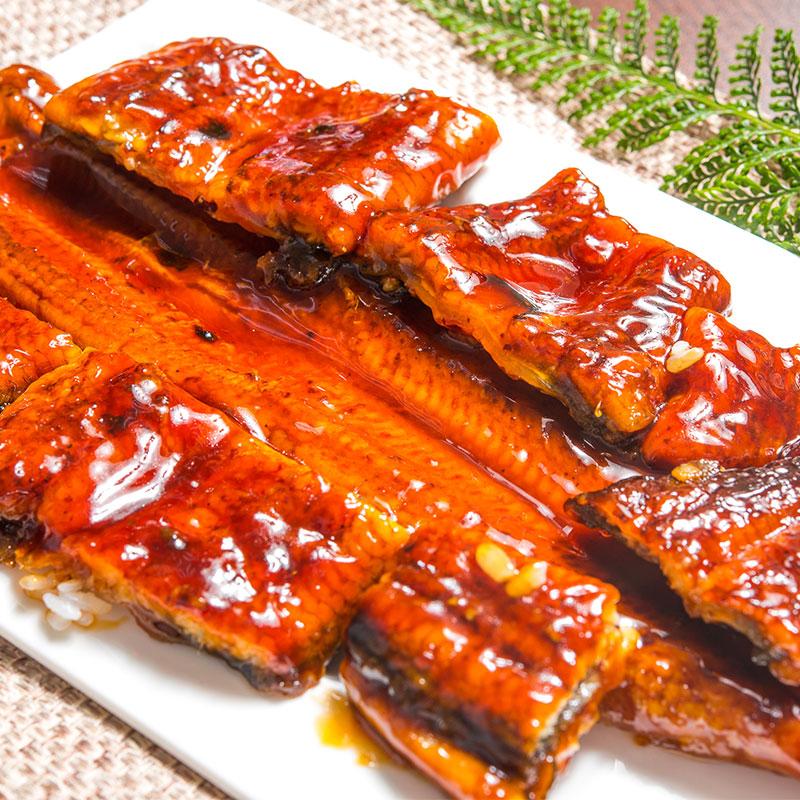 【鮮綠生活】頂級外銷日式蒲燒鰻魚200g 共3包