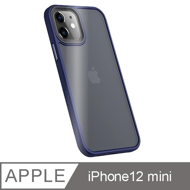 "Benks iPhone12 mini (5.4"") 防摔膚感手機殼-海軍藍"