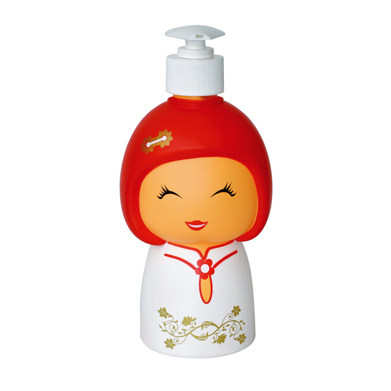 e-my 娃娃造型擠皂器-白衣娃娃