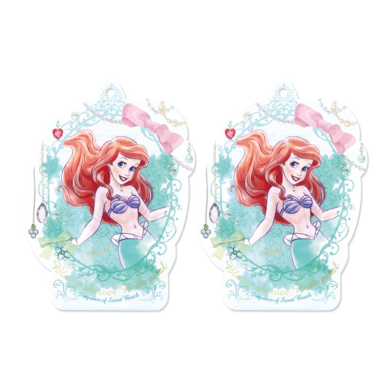 Disney迪士尼公主花瓣泡澡片-小美人魚〈蜜桃香〉-2入組