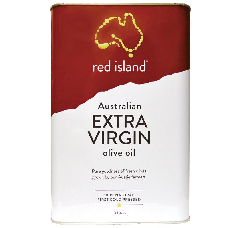 澳洲 red island 特級冷壓初榨橄欖油3L 單入量販包