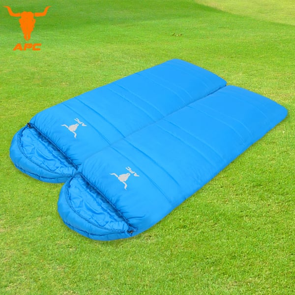 APC《馬卡龍》秋冬可拼接全開式睡袋-寶石藍(2入組)