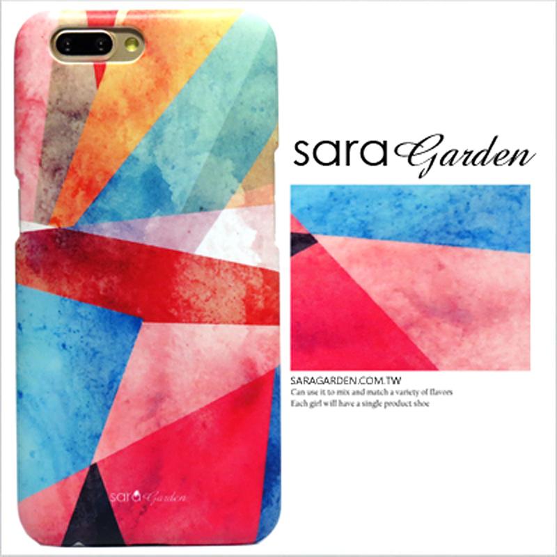 【Sara Garden】客製化 手機殼 蘋果 iPhone XS Max 三角 渲染 保護殼 硬殼