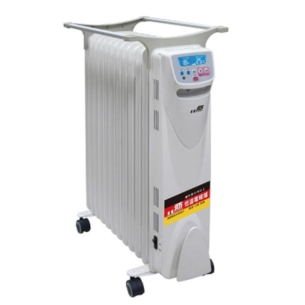北方電子式葉片恆溫12葉片電暖器NRD1281