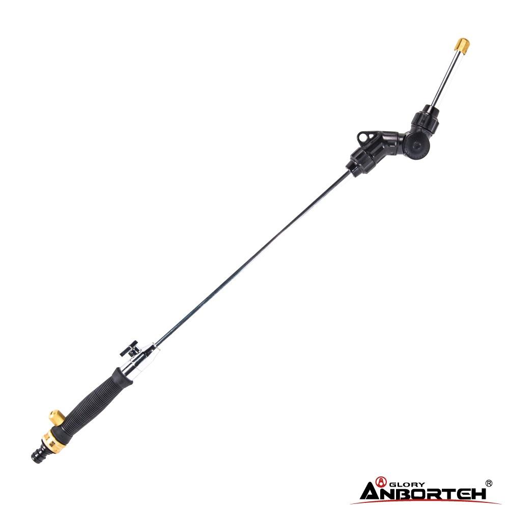 【超值組合】安伯特 噴射龍強力噴水槍+多功能伸縮水管組 新一代225度任你調 雙噴射水流+暫時止水