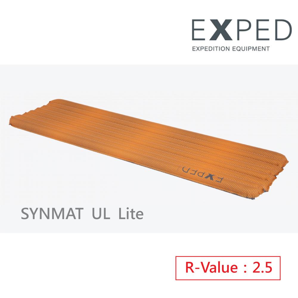 【瑞士EXPED】Synmat UL Lite 充氣睡墊-M