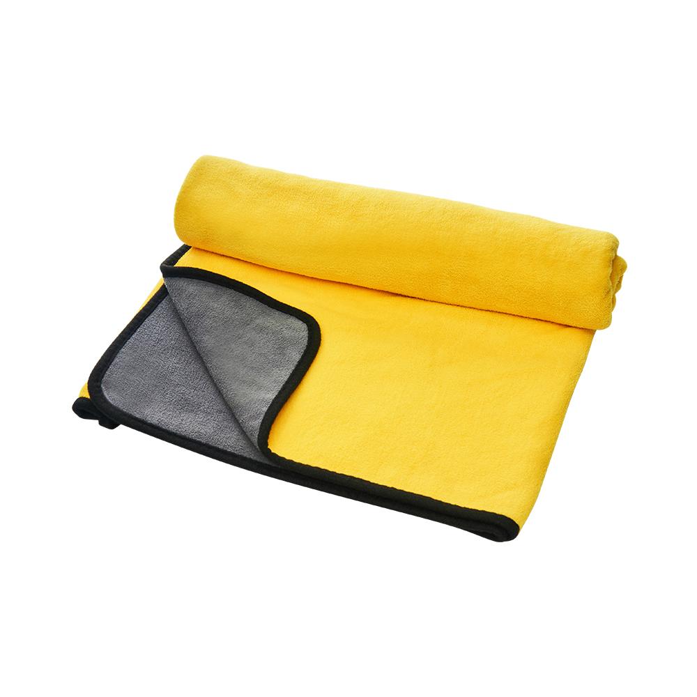 大吸力 速乾纖維吸水巾-60x90cm (洗車布 洗車巾 汽機車 洗車專用布 吸水巾 擦車布 洗車工具 抹布 雙面加厚)