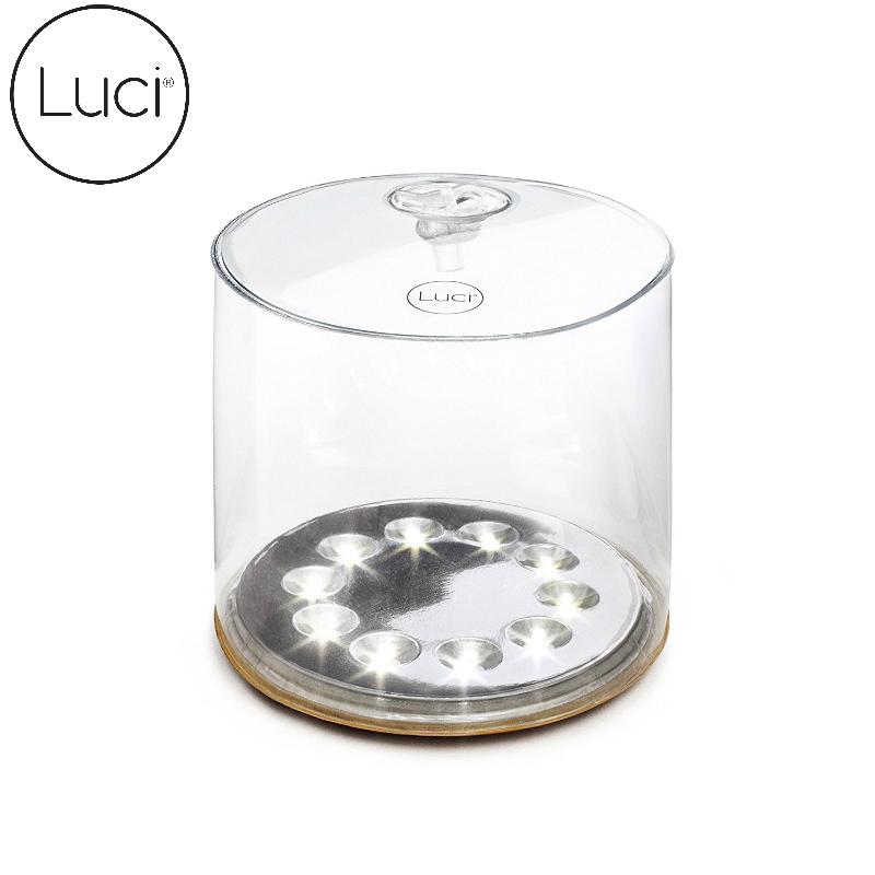 【美國LUCI 】充氣式太陽能LED燈-Original簡約白光