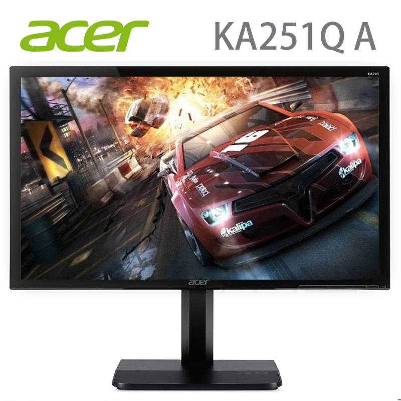 Acer 25型無邊框螢幕_KA251Q A