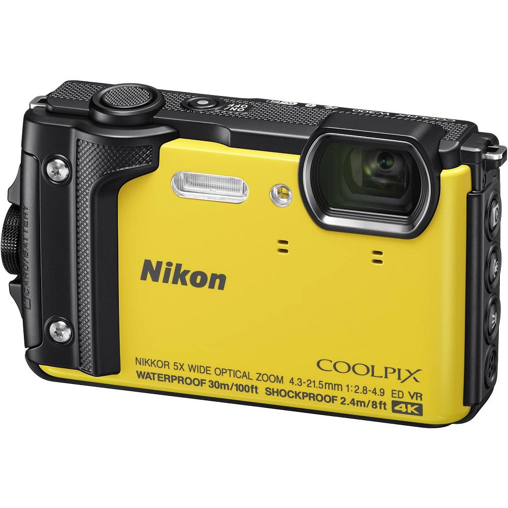 Nikon COOLPIX W300 防水30m 4K錄影 公司貨 (黃色)