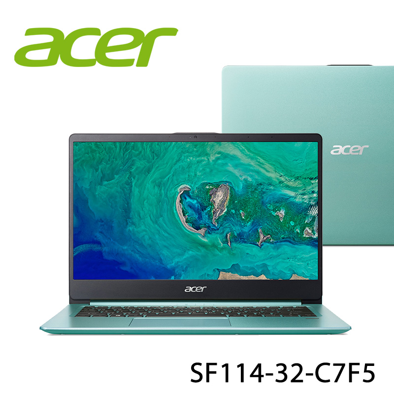 【ACER宏碁】SF114-32-C7F5 14吋 筆電(N4100/4G/128GB)-送美國OSTER 隨行杯果汁機 90th紀念款+無線滑鼠