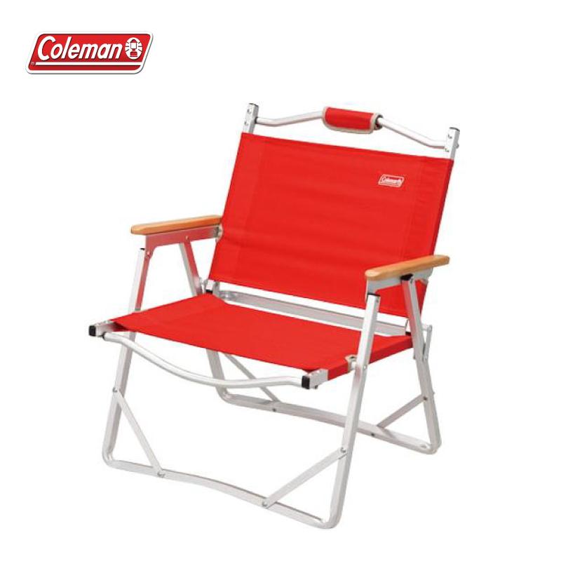 Coleman 輕薄摺疊椅 紅色 折疊椅 露營椅 帆布椅 休閒椅 登山 露營 CM-7670J