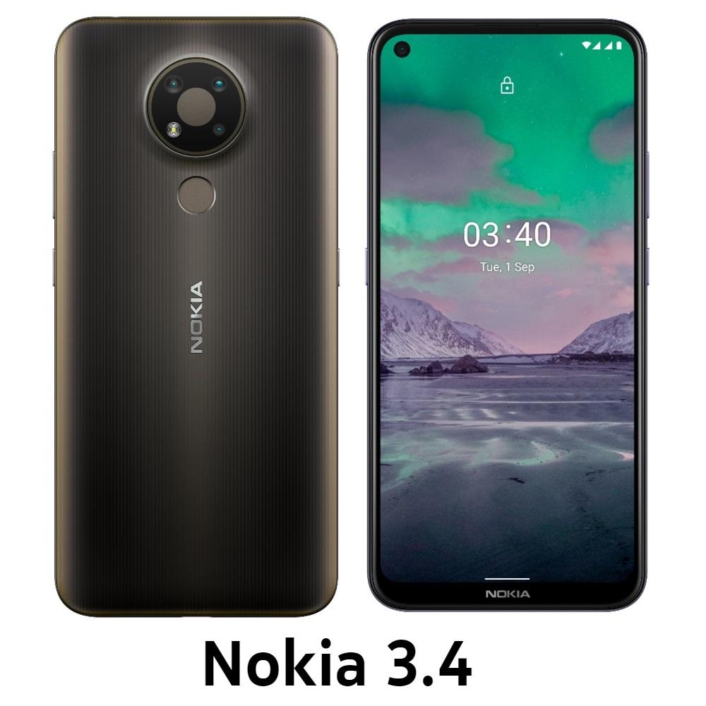 Nokia 3.4 3G/64G 6.39吋三鏡頭智慧型手機_驚碳黑