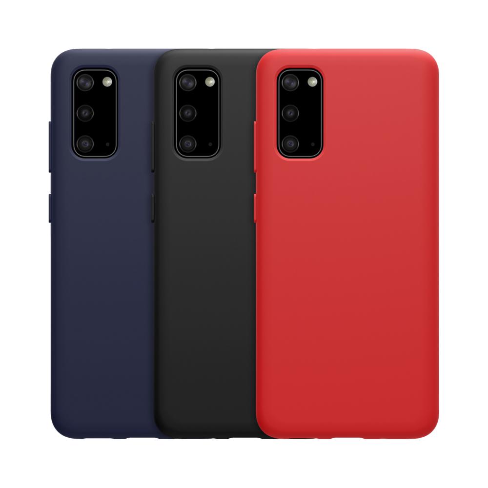 NILLKIN SAMSUNG Galaxy S20 感系列液態矽膠殼(紅色)