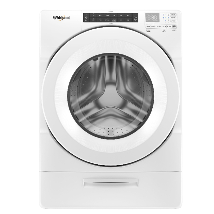 【Whirlpool惠而浦】17公斤 17KG 溫熱水滾筒洗衣機 8TWFW5620HW