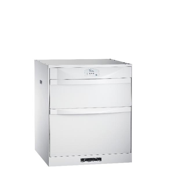 (全省安裝)喜特麗60公分臭氧型鋼琴烤漆嵌入式烘碗機冰晶白JT-3162QGW