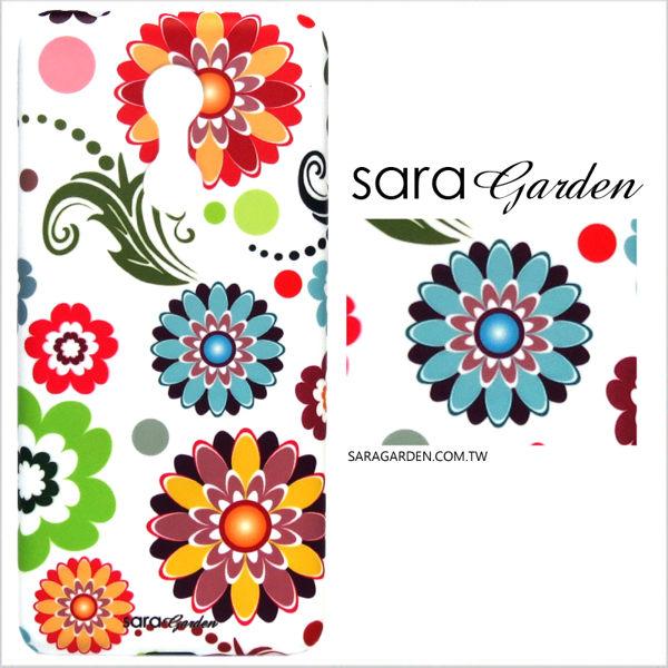 【Sara Garden】客製化 手機殼 小米 紅米5 保護殼 硬殼 手繪可愛碎花