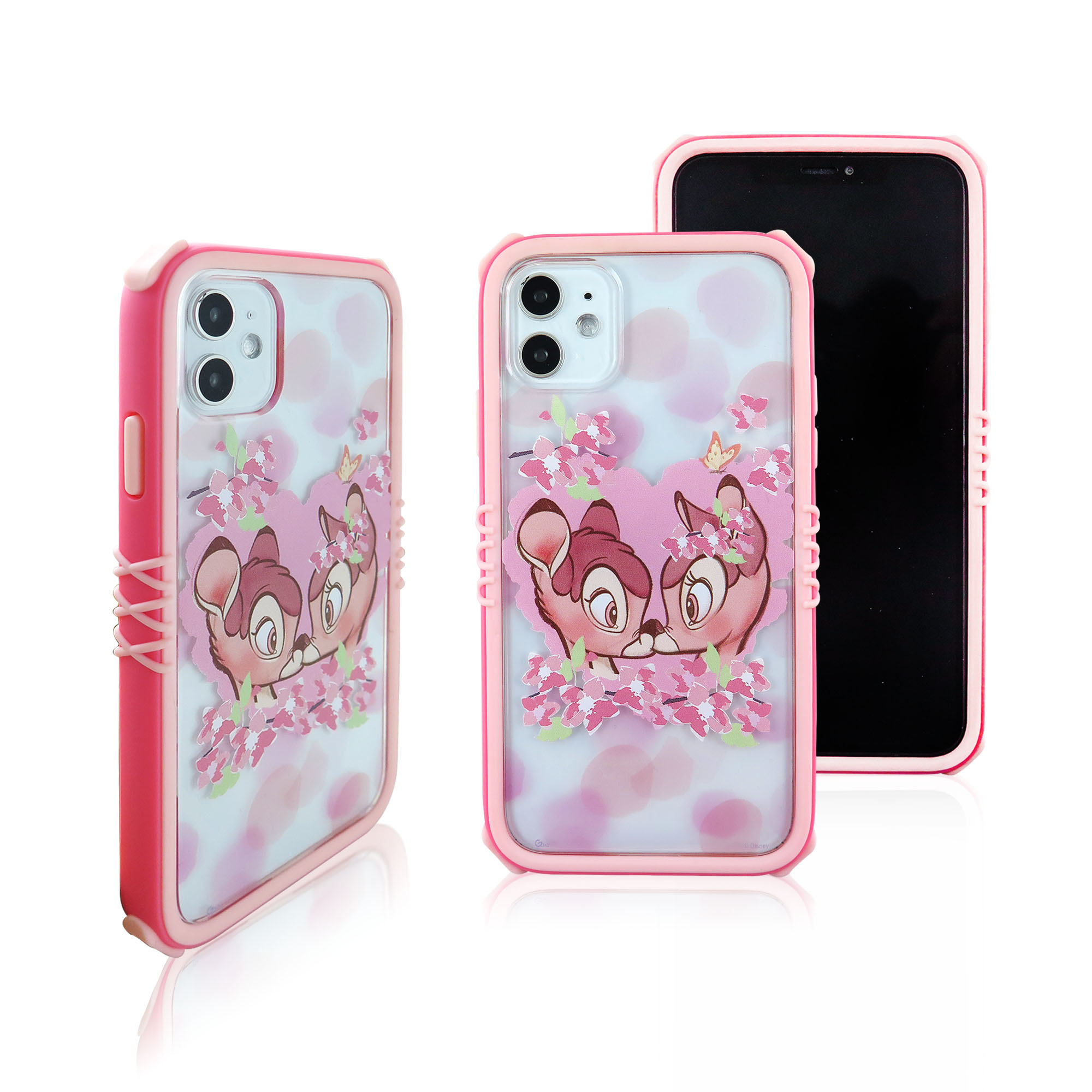 Disney迪士尼iPhone11Pro櫻花系列雅典娜防摔殼_櫻花小鹿斑比
