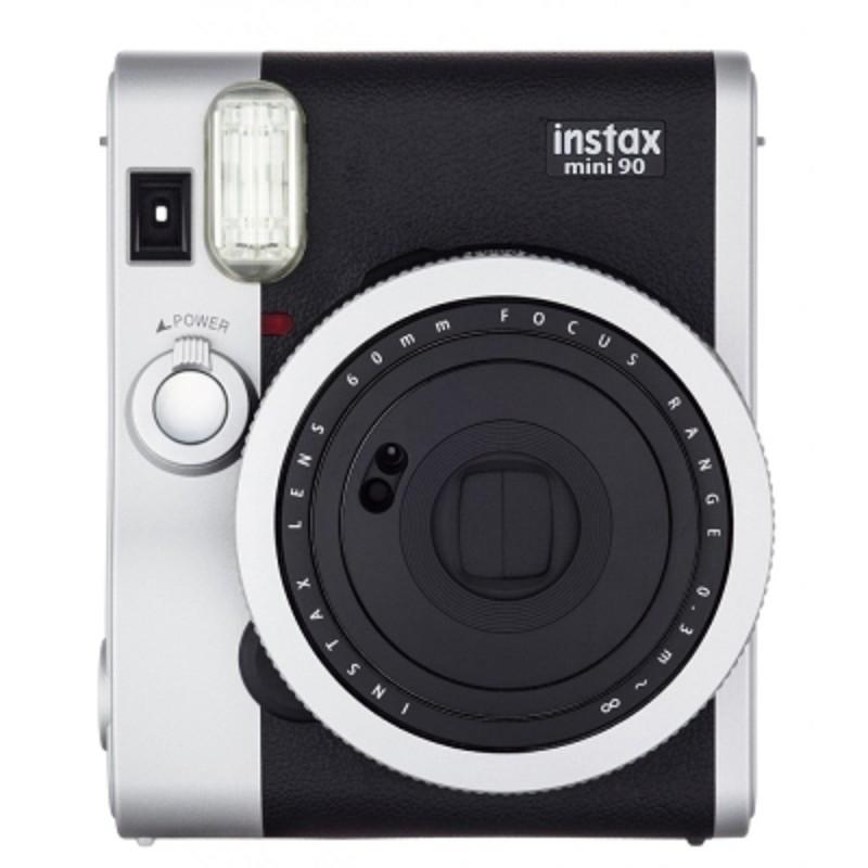 FUJIFILM Instax mini 90 -黑色 拍立得相機 (原廠公司貨) 送5好禮