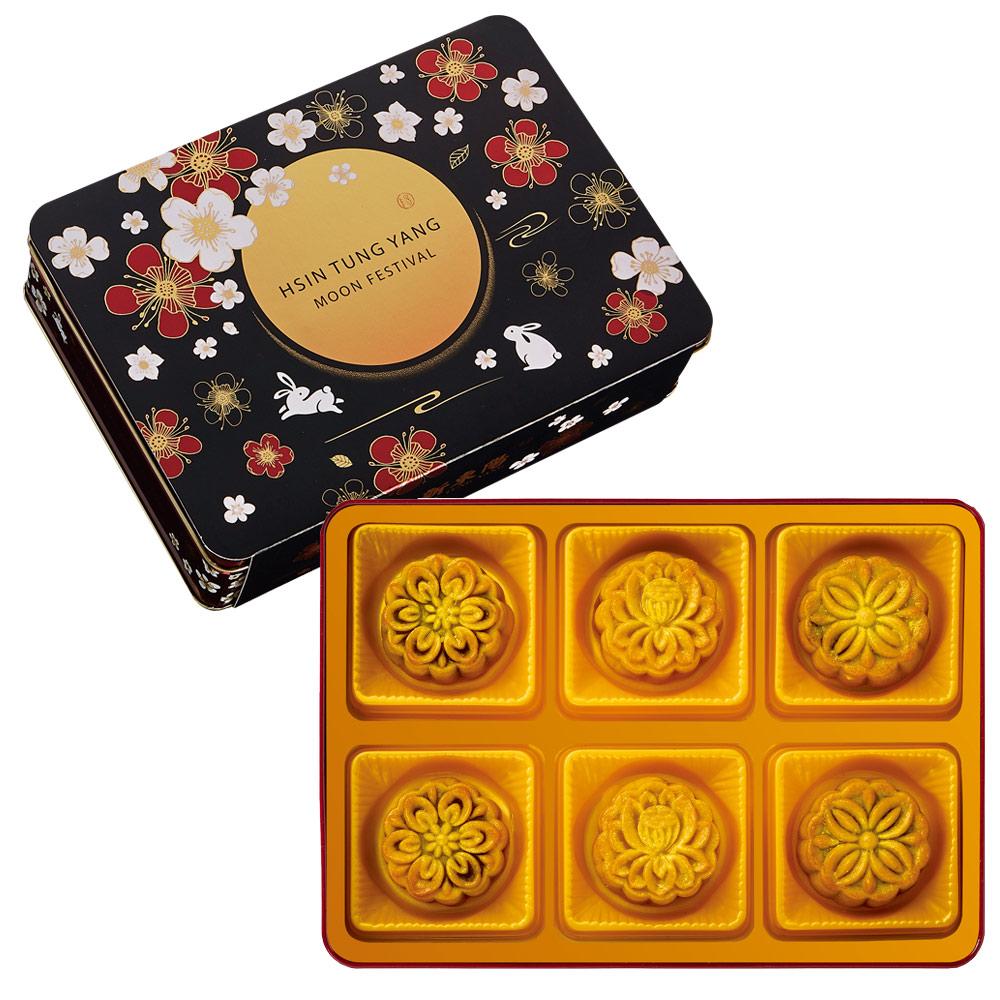 (團購)【新東陽】廣式無糖月餅禮盒 (9/15-9/25出貨,共8盒)★附贈提袋