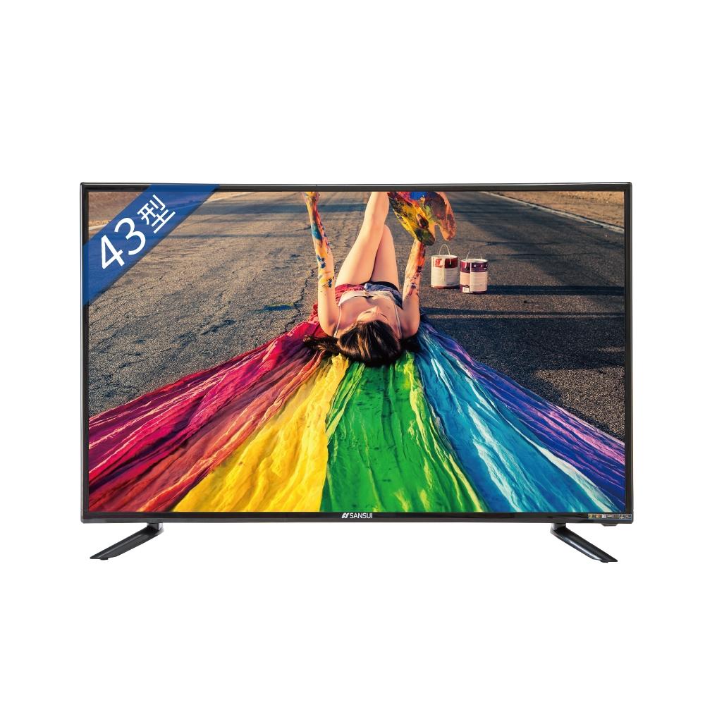 山水43吋4K聯網安卓9.0電視SLED-439VT(無安裝)