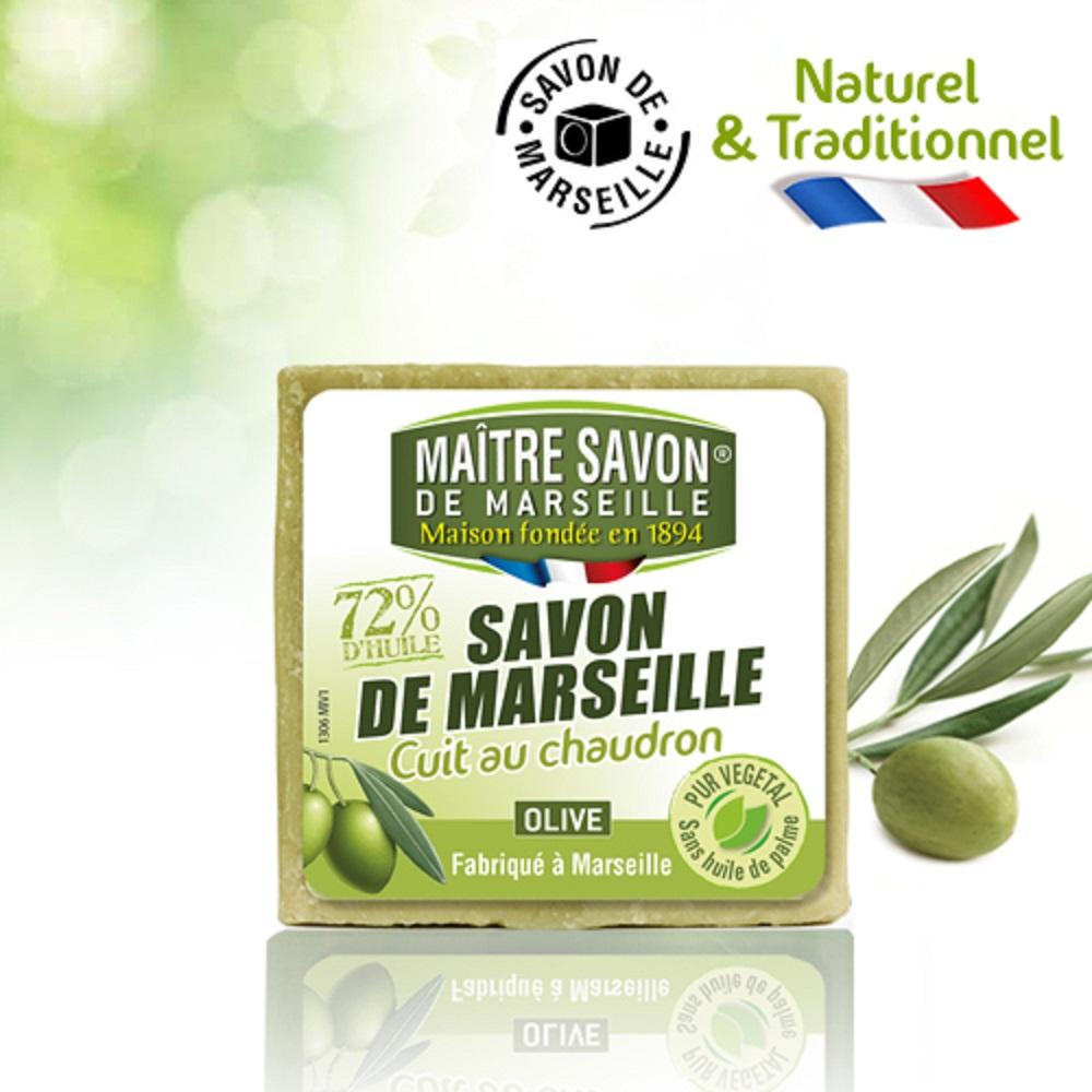 【買三送三】法國玫翠思傳統經典橄欖馬賽皂300g共6入