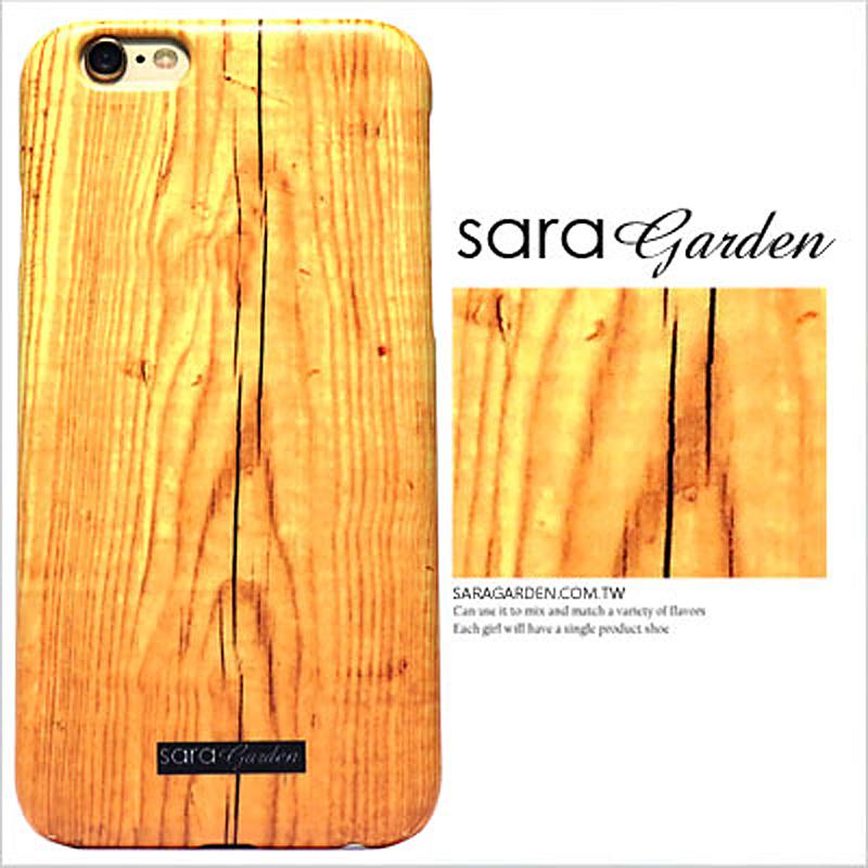 【Sara Garden】客製化 手機殼 蘋果 iPhone6 iphone6S i6 i6s 4.7吋 高清 櫻桃木紋 保護殼 硬殼 限定