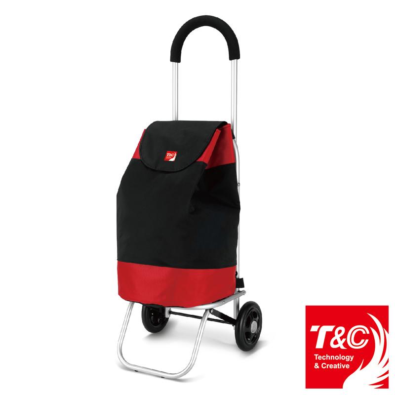 【T&C】時尚摺疊購物車