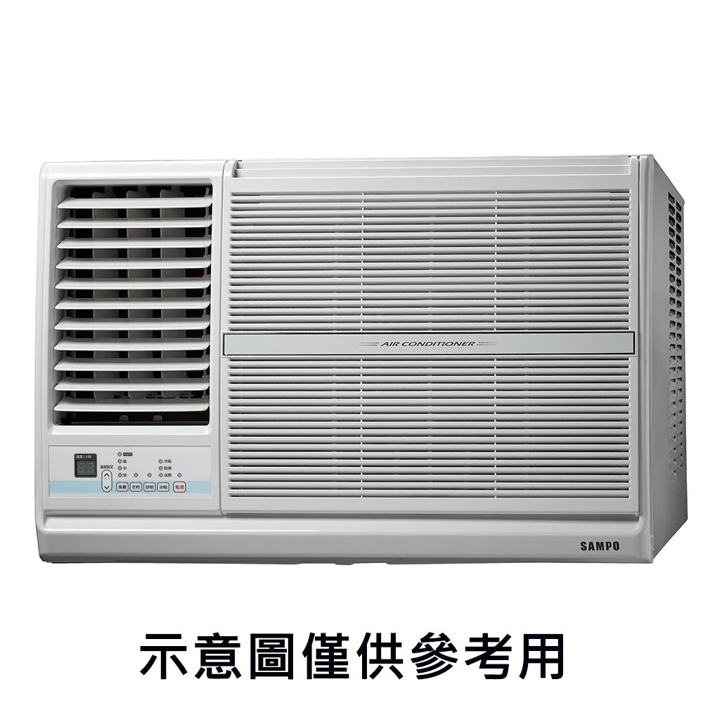 【SAMPO聲寶】3-5坪定頻左吹窗型冷氣 AW-PC22L