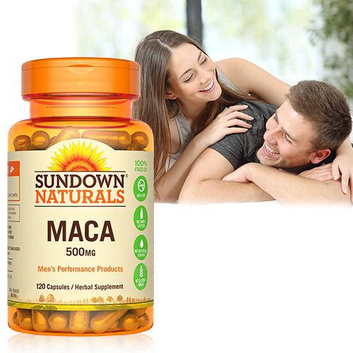 【超值優惠】Sundown日落恩賜 四倍濃縮晶鑽瑪卡(120粒/瓶)