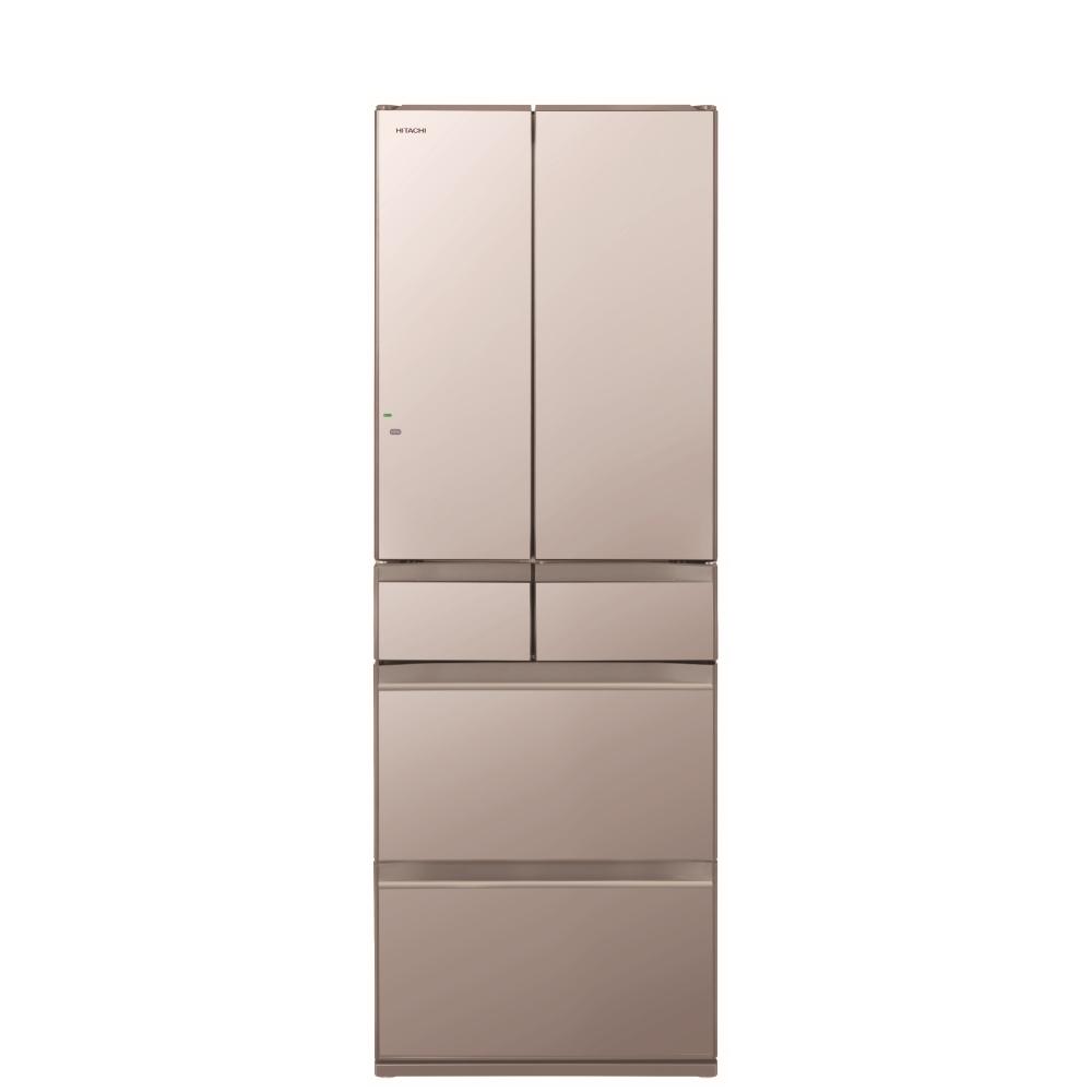 回函贈日立527公升六門-琉璃(與RHW530NJ同款)冰箱XN琉璃金RHW530NJXN