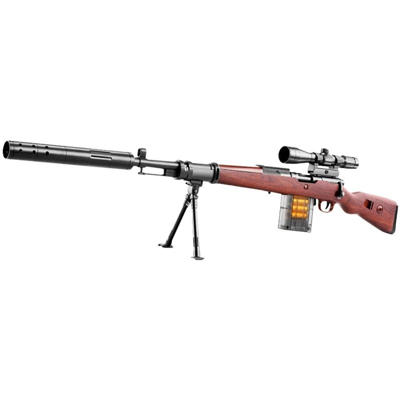 FJ 超仿真模擬槍戰安全軟彈槍 98K 棕色