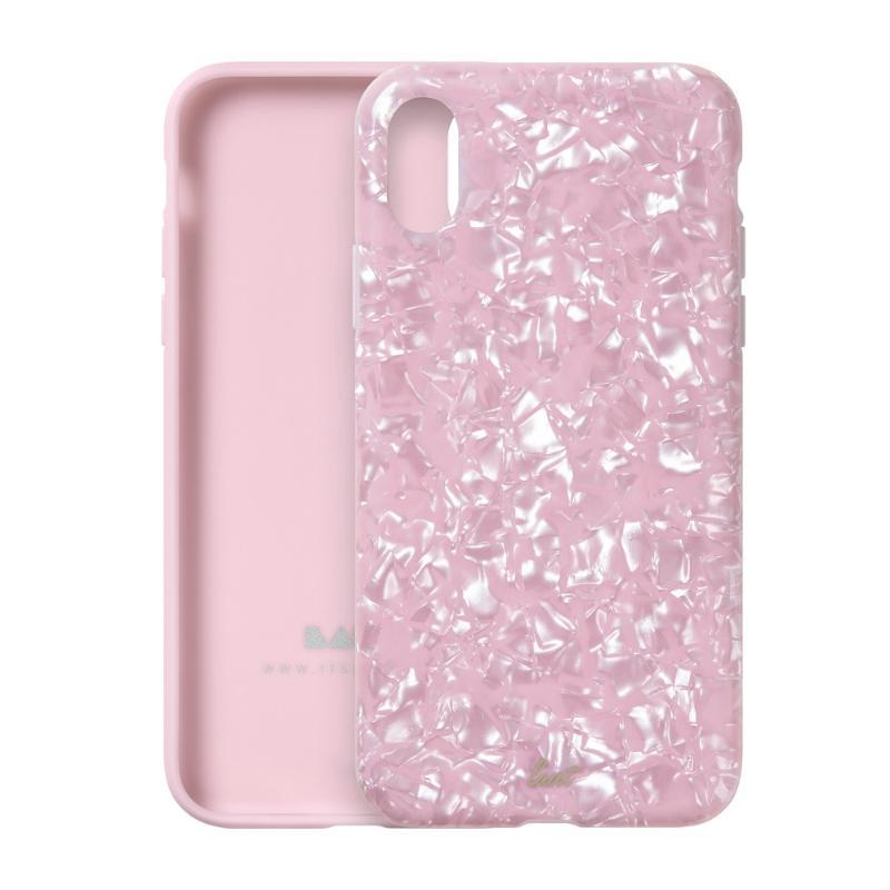 LAUT 珍珠系列保護殼 iPhoneXs 粉紅玫瑰