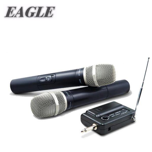【EAGLE】專業級UHF無線麥克風組(EWM-U9)含二支無線麥克風