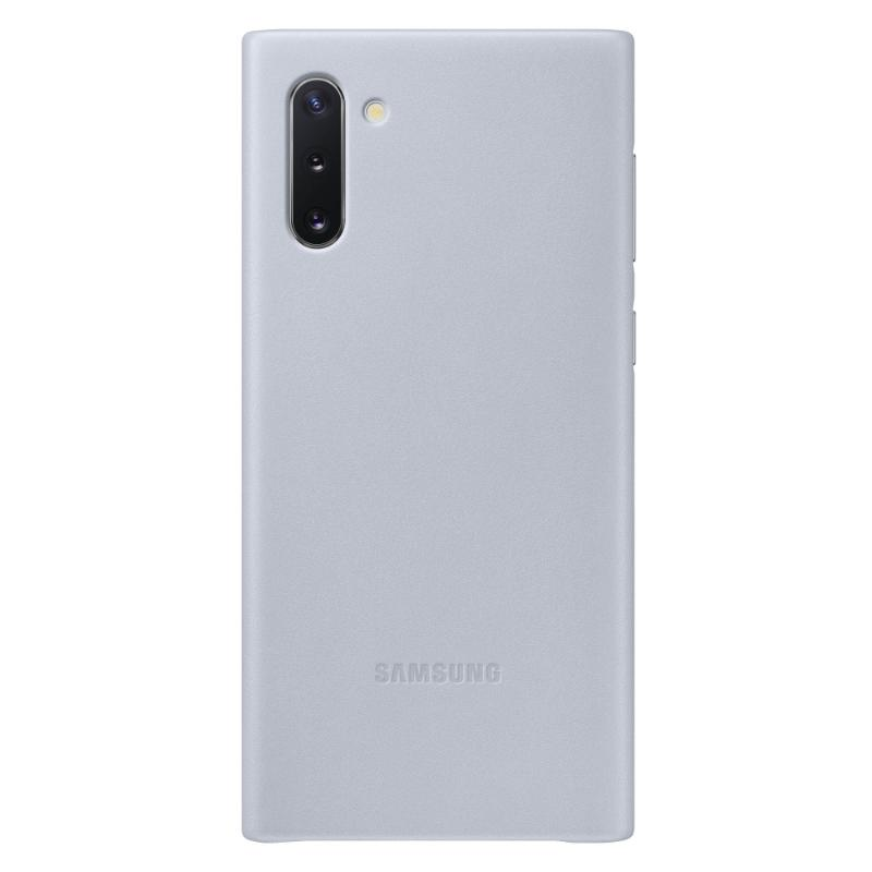 SAMSUNG Galaxy Note10皮革背蓋 灰